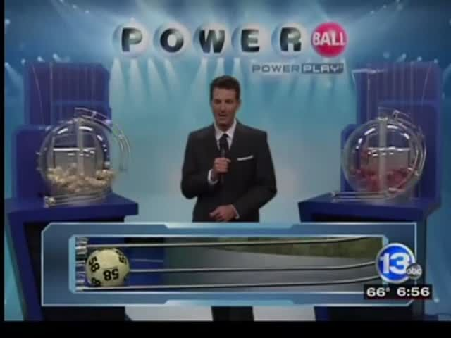 News video: Three will split Powerball jackpot!