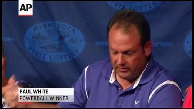 News video: Lottery Winner: Almost 'Forgot' to Buy Tickets